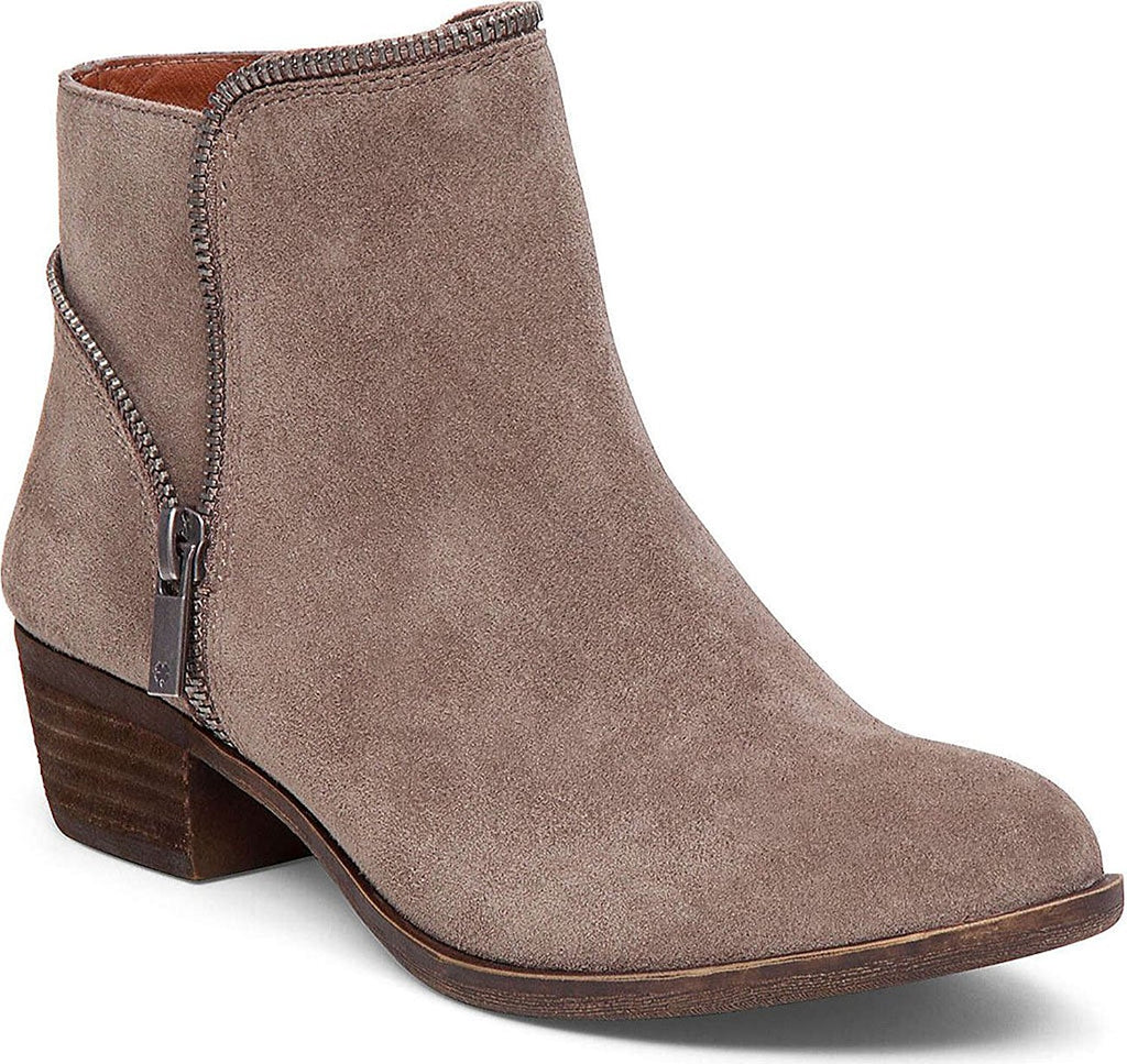 Lucky Brand Womens Boide Bootie,Brindle Suede