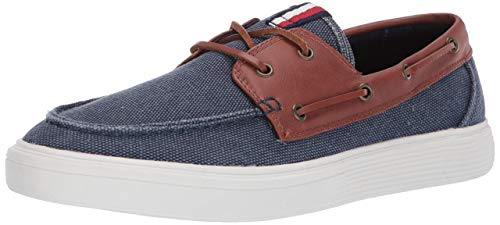 Tommy Hilfiger Men's Oxley Navy Slip On Classic Boat ShoeSneaker