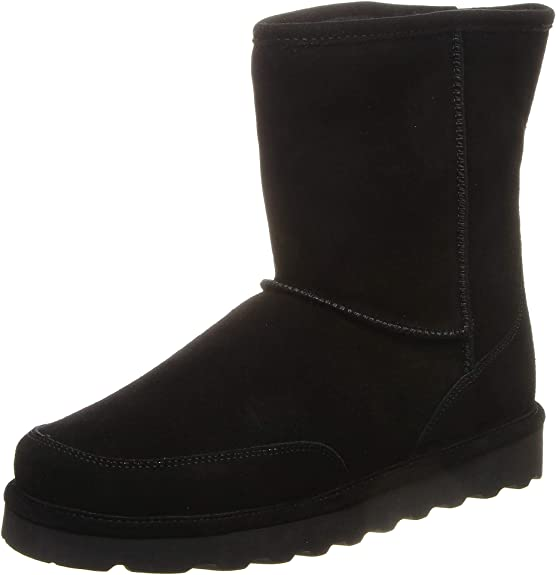 BEARPAW Men's Brady Fashion Boot, Black ii, (9)