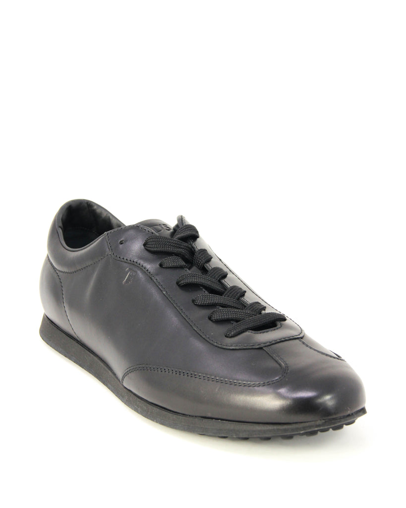 Tod's Men's Allacciato Shoes Leather Trainers Sneakers, NERO XXM0TB0K85XRUSB999