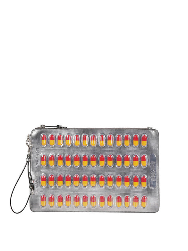 MOSCHINO CAPSULE COLLECTION CLUTCH A849980531610