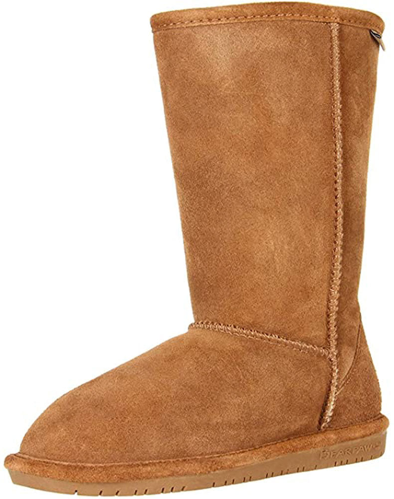 Bearpaw Kids Girl's Emma Tall (Little Kid/Big Kid) Hickory
