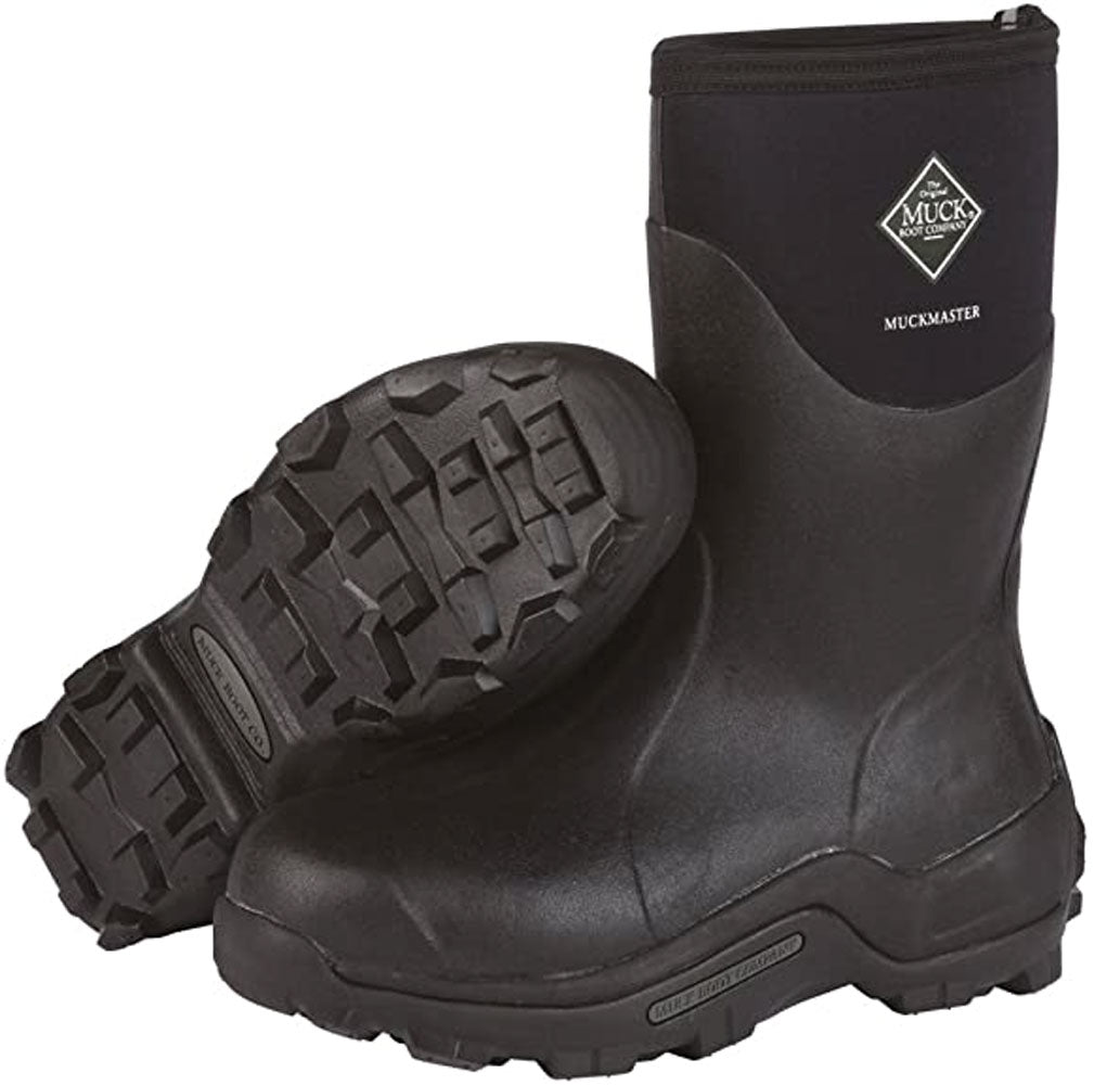 Muck Boot Muckmaster Commercial Grade Rubber Work Boot-Black