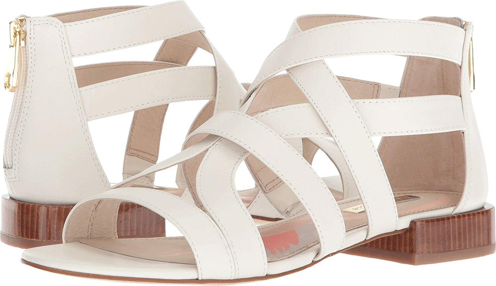 Louise et Cie Women's Arely Open-toe Imported zipper closure Sandal-DUTCHESS
