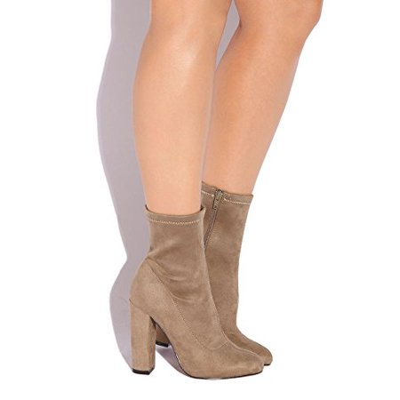 LFL Macey Women US Tan Mid Calf Boot