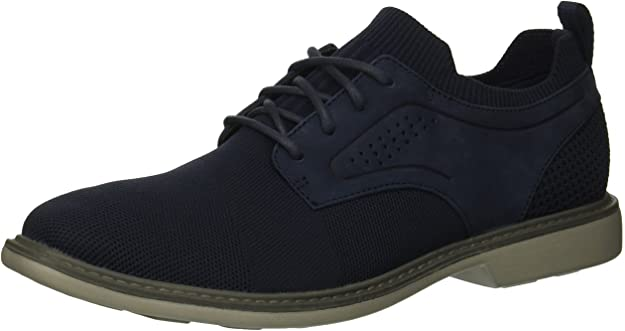 Skechers Men's CLUBMAN - WESTSIDE Fabric LACE UP Oxford Navy