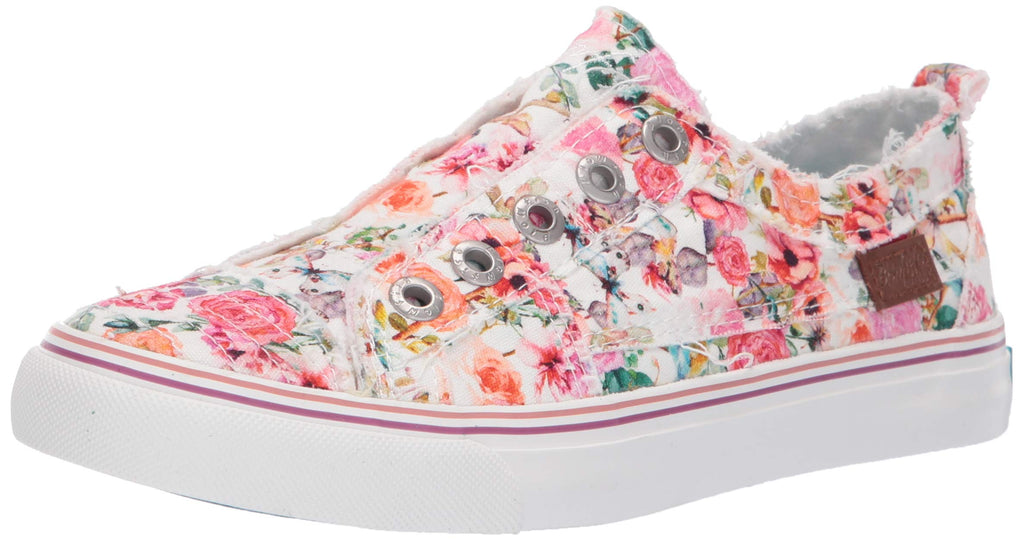 Blowfish Malibu Play Flowerfest No Lace Slip On Multi Color Fashion Sneakers