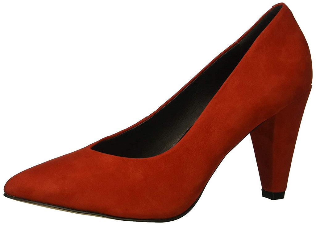 LFL by Lust For Life Women's Cambridge Slip On Wrapped Heel Nubuck Dress Pump
