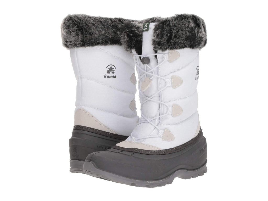 Kamik Women's MOMENTUM2 Snow Boot, White (7, white)