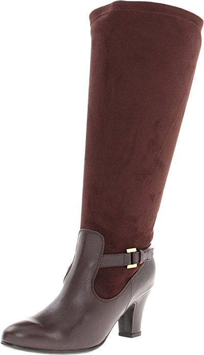 Blondo Women's Verlaine Knee-High Boot,Java Tucson/Stretch Ultra Suede
