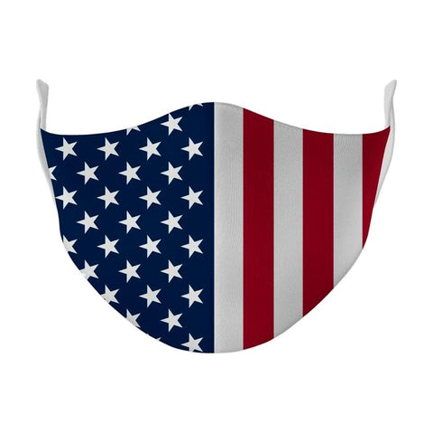 American Flag Multi-Layer Poly Mask