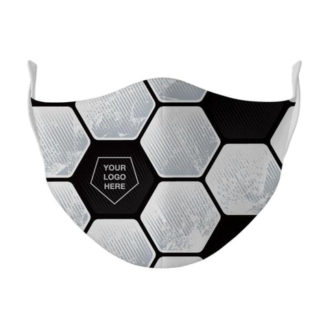 Soccer Ball Multi-Layer Poly Mask