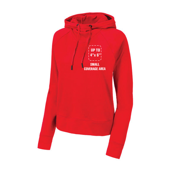 Sport-tek French Terry Lightweight Hoodie - Women's