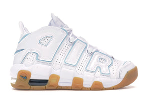 Air More Uptempo White Aqua Gum
