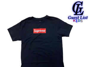 OG Sup Box Logo - Black