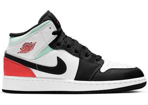 Jordan 1 Mid GS Red Mint
