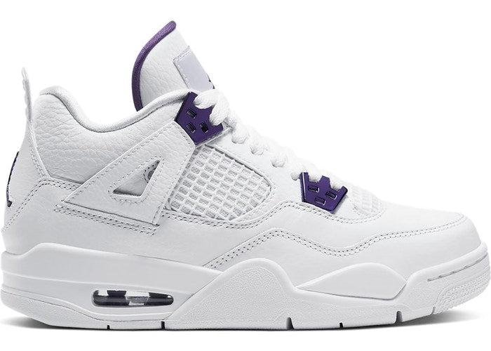 Jordan 4 Metallic Purple (GS)