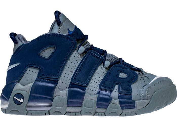 Air More Uptempo 96 Cool Grey Midnight Navy