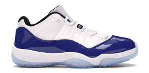 Jordan 11 Retro Low White Concord (W)