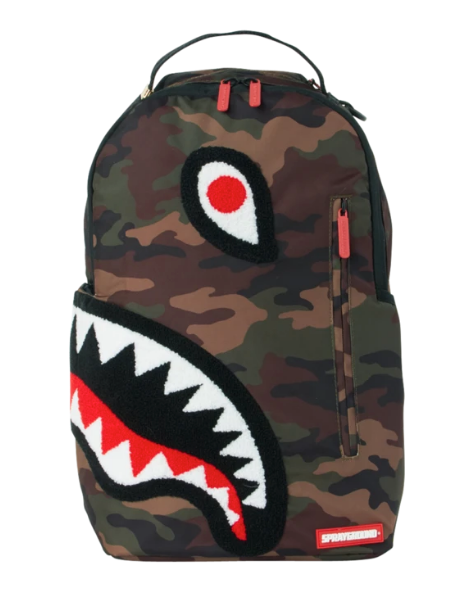 Torpedo shark camo backpack
