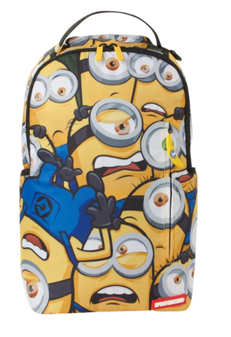 minions crammed backpack