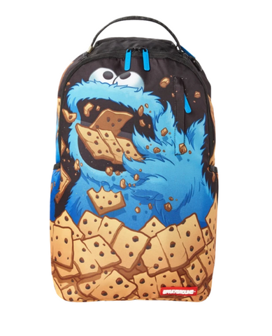Cookie monster cookie dough backpack