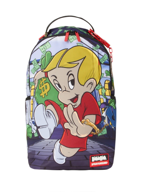 Richie rich on the run backpack