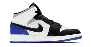 Jordan 1 Mid SE Black Royal Toe