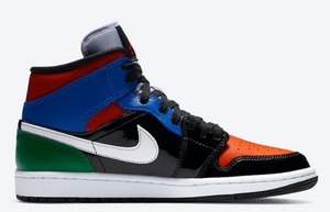 "Air Jordan 1 Mid SE ""Multi Patent"""