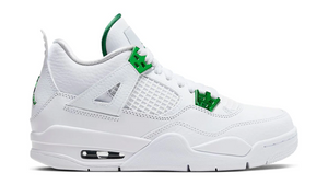 Jordan 4 Retro Metallic Green (GS)