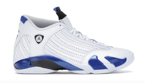 Jordan 14 White Hyper Royal