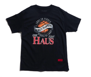 Haus of Jr Champions tee - Blk