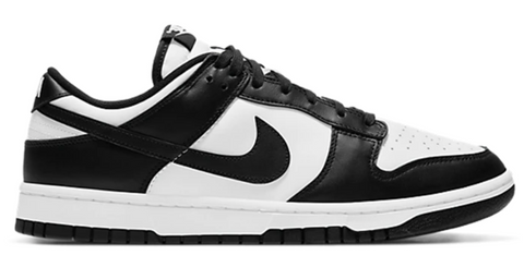 Nike Dunk Low Retro White Black (PS)