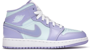 Jordan 1 Mid Purple Aqua (GS)