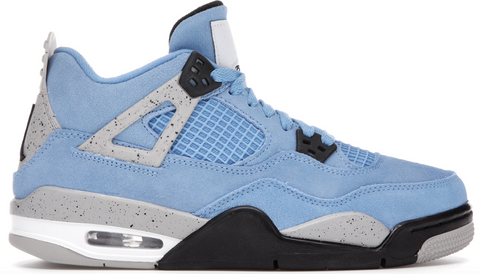 Jordan 4 Retro University Blue (GS)