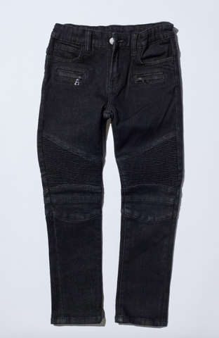 Jenson Biker Denim Black