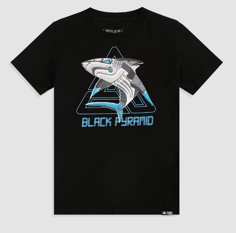 Black Pyramid Shark Shirt