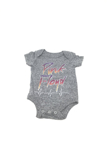Pink Floyd - Rhythmic Beat - Heather Grey - Onesie