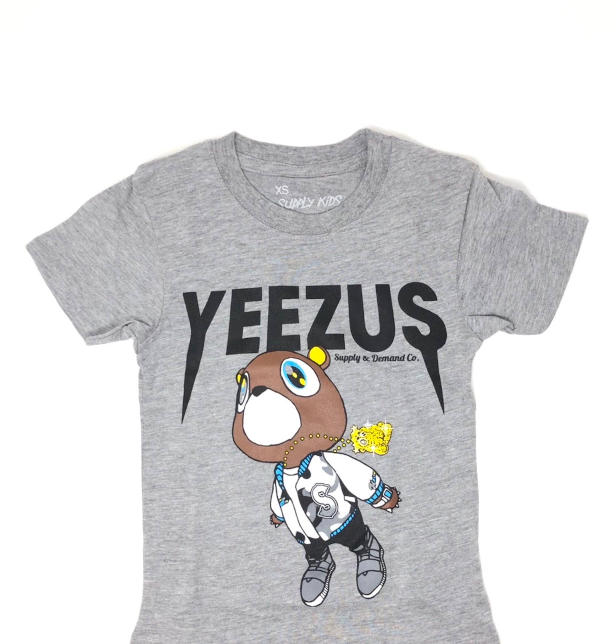 Yeezus Bear - Grey