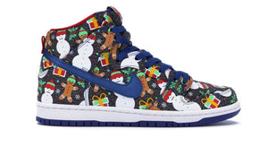 Nike SB Dunk High Concepts Ugly Christmas Sweater