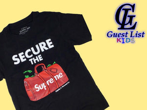 Secure The Bag - Black