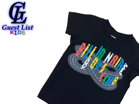 BB Race Track SS Tee - Black