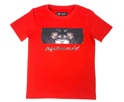 Crying eyes Tee - Red