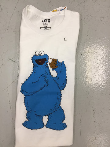 Kaws Cookie Monster - White