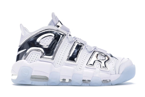 Air More Uptempo Chrome White
