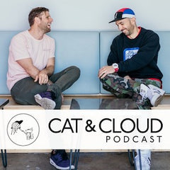 Cat & Cloud Coffee Podcast Cover