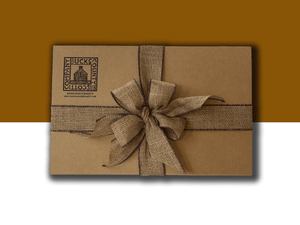 Front of Gift Box with Gift Wrapping