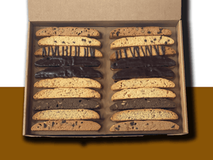 40 Piece Biscotti Box (Free Mug & Shipping)