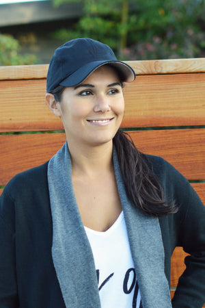 Enhance your inner beauty and glow from within with the Glow and Go baseball cap from Blush Bee. Stay active, fashionable and youthful with the face-brightening hat. Made in Canada/North America.