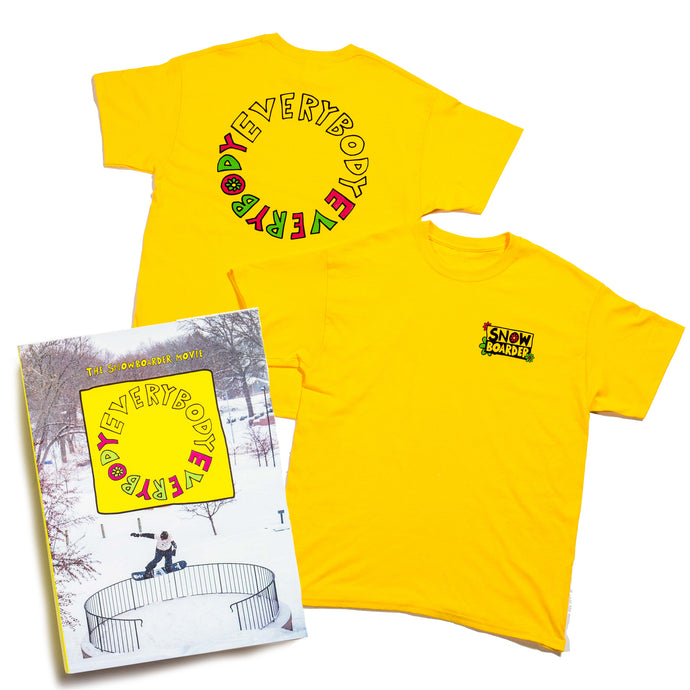 EVERYBODY, EVERYBODY DVD + TEE BONUS PACK